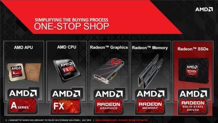 AMD se abre paso en almacenamiento con SSDs Radeon R7 Series