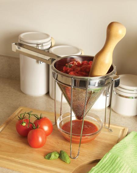 Molcajete con colador para hacernos la vida más fácil en la cocina