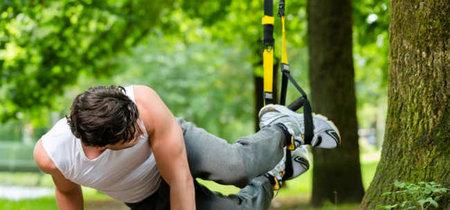 21 ejercicios que puedes realizar con TRX para ponerte en forma fuera del gimnasio