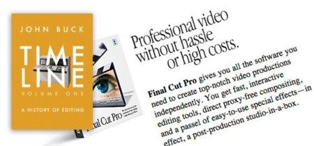 Timeline, volumen 1 y 2: historia de la edición de vídeo con anécdotas sobre el desarrollo de Final Cut y cómo influyo en la creación de iMovie