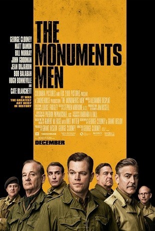 'The Monuments Men', tráiler final y cartel de la película de George Clooney
