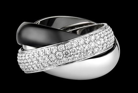 """La colección """"Trinity"""" en blanco y negro de Cartier"""