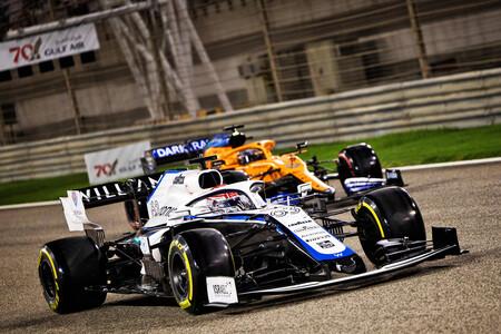 Russell Barein F1 2020