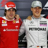 Fernando Alonso, en el podio de los pilotos más ricos de Fórmula 1 junto a Lewis Hamilton y Michael Schumacher