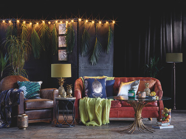 En 2017 nuestro hogar se vestirá con toques tropicales de la mano de Primark Home