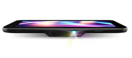 Tablet con picoproyector, una buena combinación para las presentaciones