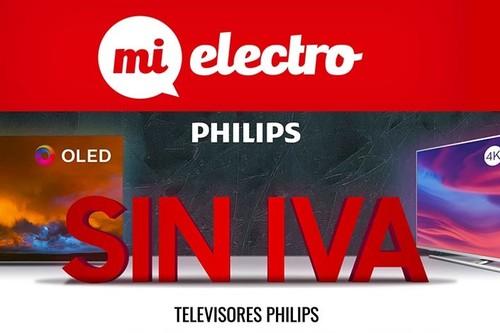 Día sin IVA en MiElectro: los mejores modelos de smart TVs Philips a precios sin igual
