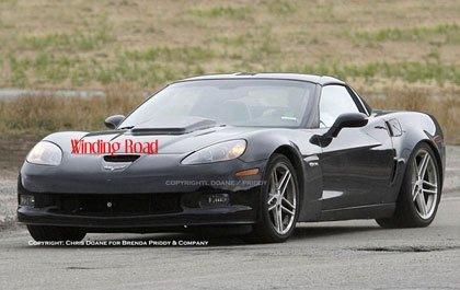 El Corvette de 600 CV llegará en 2009