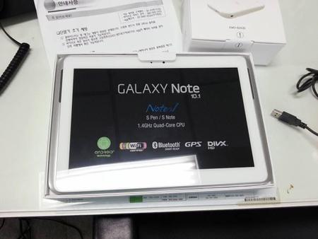 Samsung Galaxy Note 10.1 se filtran sus especificaciones y diseño finales