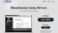 LiveMinutes, videoconferencia en Flash para nuestros navegadores