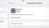 Apple lanza iOS 7.0.3 con el llavero de iCloud y una docena de mejoras y correcciones