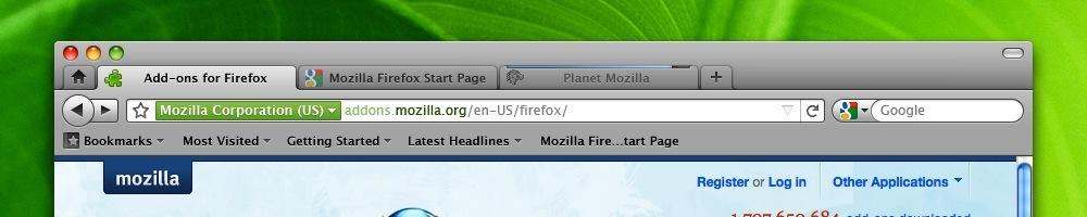 Foto de Pruebas de la interfaz de Firefox 4 (3/6)