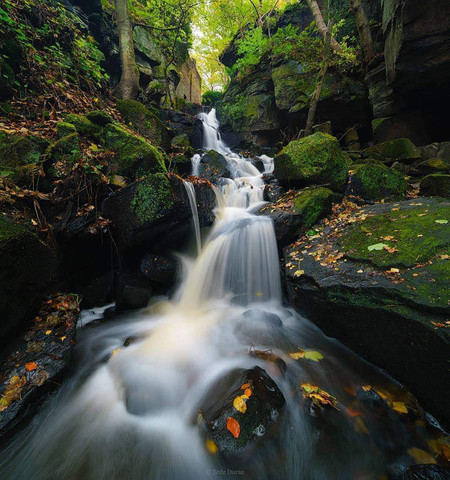 A Runner Up From Pipa In Landscape Category Capturing Lumsdale Waterfalls In Matlock By Tedzduran