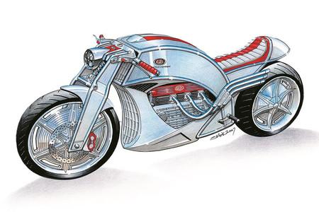 Hasta 1941 Levis fue una prestigiosa marca de motos y ahora quiere volver con una café racer V6