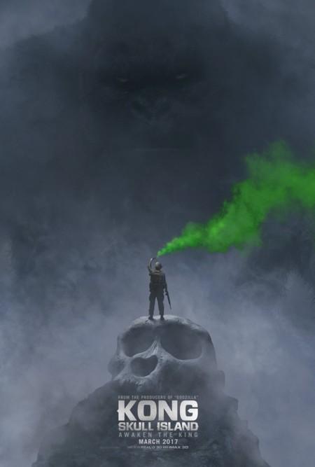 Teaser póster de Kong Skull Island