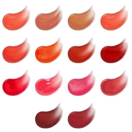 Shine Lust Lip Tint de Kiko tonos