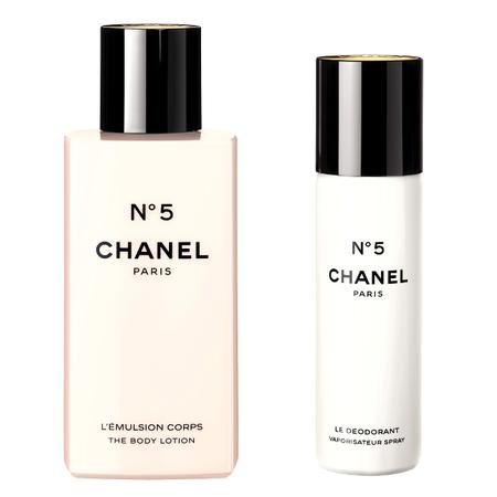 Línea cuerpo Chanel Nº 5