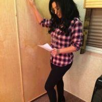 Christina Aguilera se nos quita el rubio pollo
