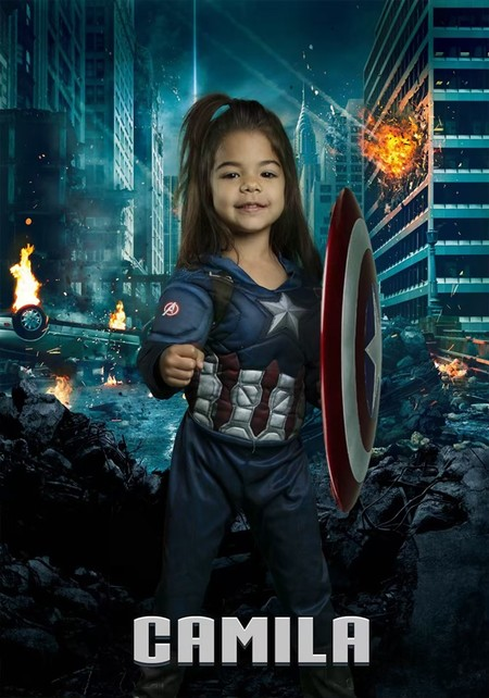 Ninos Superheroes 7