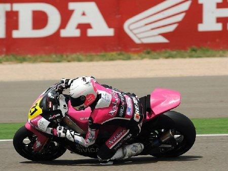 Ivan Moreno moto2 Aragon CEV