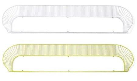 Una buena idea: una estantería ligera como cabecero