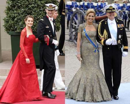Doña Letizia y Máxima de Holanda de boda
