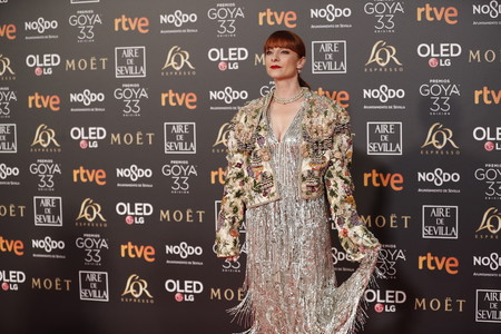Premios Goya 2019: La originalidad llega de la mano de la aclamada Najwa Nimri y su estilismo de película