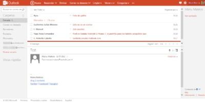 Microsoft admite que Outlook.com tiene que mejorar su soporte IMAP y su compatibilidad con OS X