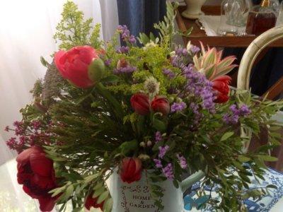 Taller de flores con Brumalis en Casa Decor, aprendiendo de los mejores