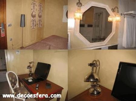 detalles habitación hotel Sacristía Decoesfera