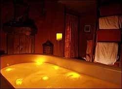 San Valentín: para los dos, luces en la bañera