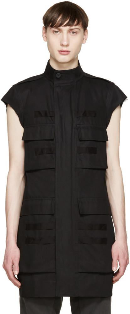 Clon De La Semana Zara Rick Owens Vest Pocket