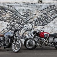 A sus 50 años la Moto Guzzi V7 se renueva, edición especial incluida