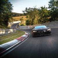 ¡Demoledor! El Bugatti Chiron Pur Sport está ultimando su desarrollo en Nürburgring, y su rugido en pista es glorioso