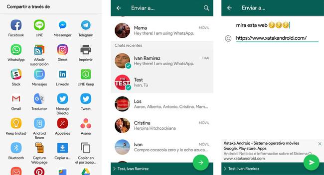 Novedad en WhatsApp Beta para Android: ventana de confirmación antes de enviar un mensaje a varias personas