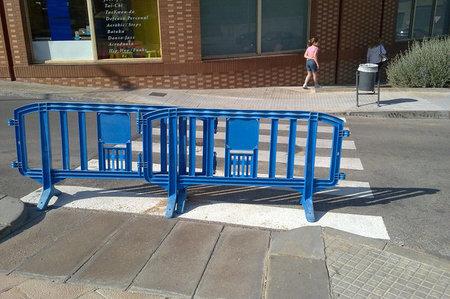 Proposición no de ley para eliminar pintura en los pasos de peatones y aumentar la seguridad de los moteros