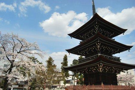El templo Hida Kokubun-Ji de Takayama en Japón