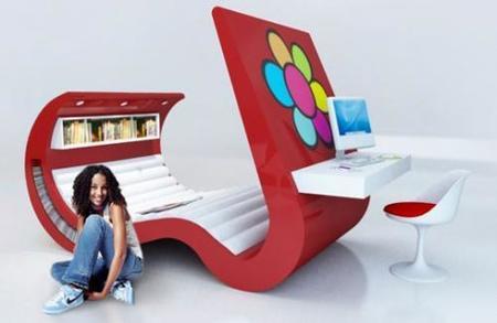 Wave Chaise, un Chaise Lounge todo en uno