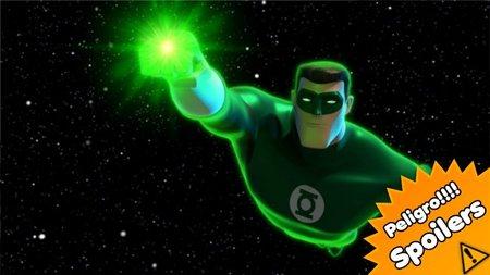 'Green Lantern. The Animated Series', perdidos en el espacio