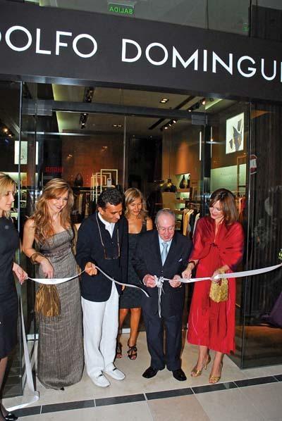 Adolfo Domínguez llega a Dubai Mall