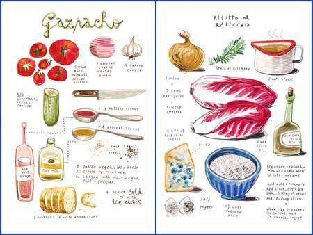Las geniales recetas ilustradas de Felicita Sala
