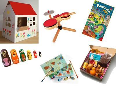 Ideas de regalos de Navidad: para niños de dos a tres años