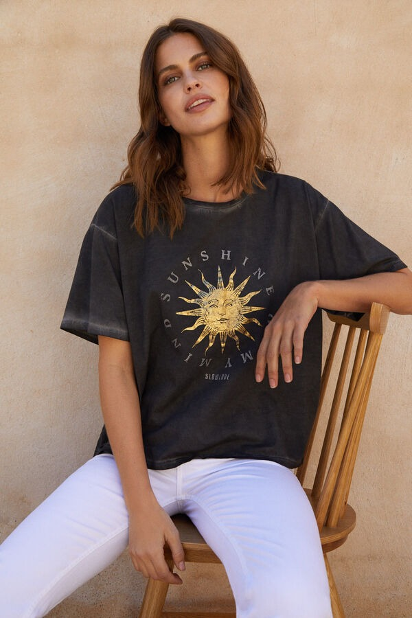 Camiseta oversize de Slowlove