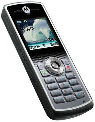 Motorola no sorprende con sus Z6w, W161y W181