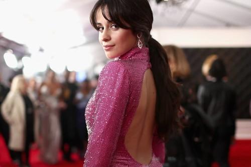Grammys 2019: Camila Cabello se atreve con la purpurina fucsia para captar todas las miradas