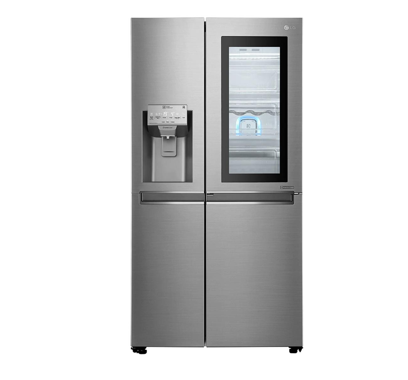 Frigorífico Side by Side LG GSI960PZAZ con puerta Door in Door Instaview y dispensador de agua y hielo