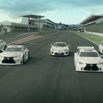 Lexus se pega un homenaje de derrapes con sus modelos más deportivos