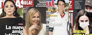 Isabel Pantoja tiene una nueva amiga íntima, Jesulín de Ubrique alquila 'Ambiciones' y Ana Obregón concede su entrevista más difícil: estas son las portadas del miércoles 2 de diciembre