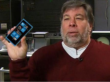 Wozniak recomienda Windows Phone antes que Android