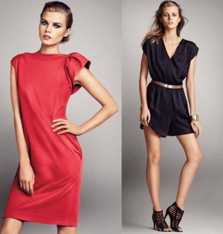 Catálogo Mango: vestidos 2011